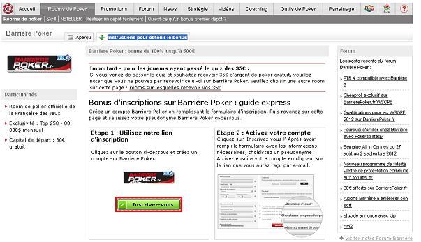 Poker depot minimum 5 euros online