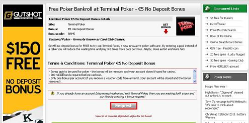bonus pour mail de casino